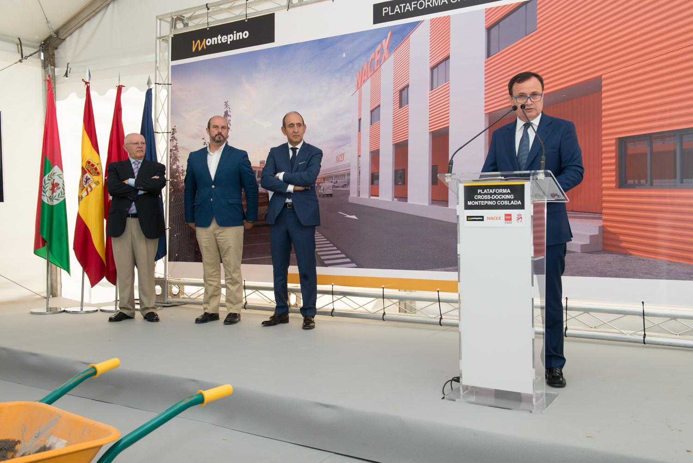 NACEX Coslada - Angel Viveros, Alcalde Coslada