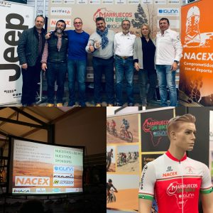 NACEX patrocina el evento MARRUECOS ON BIKE