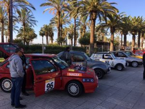 NACEX con el Rally Costa Daura Legend