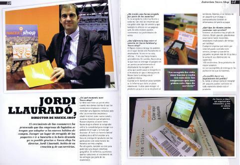 eMagazine entrevista a Jordi Llauradó, Director de Negocio de NACEX.shop