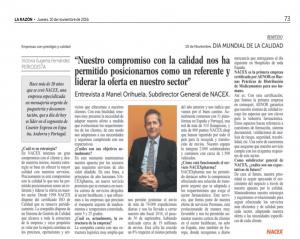Entrevista Manel Orihuela La Razón