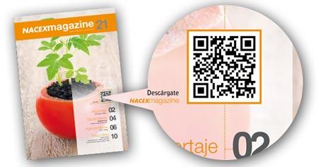 Déscargate NACEX Magazine escaneando el código QR