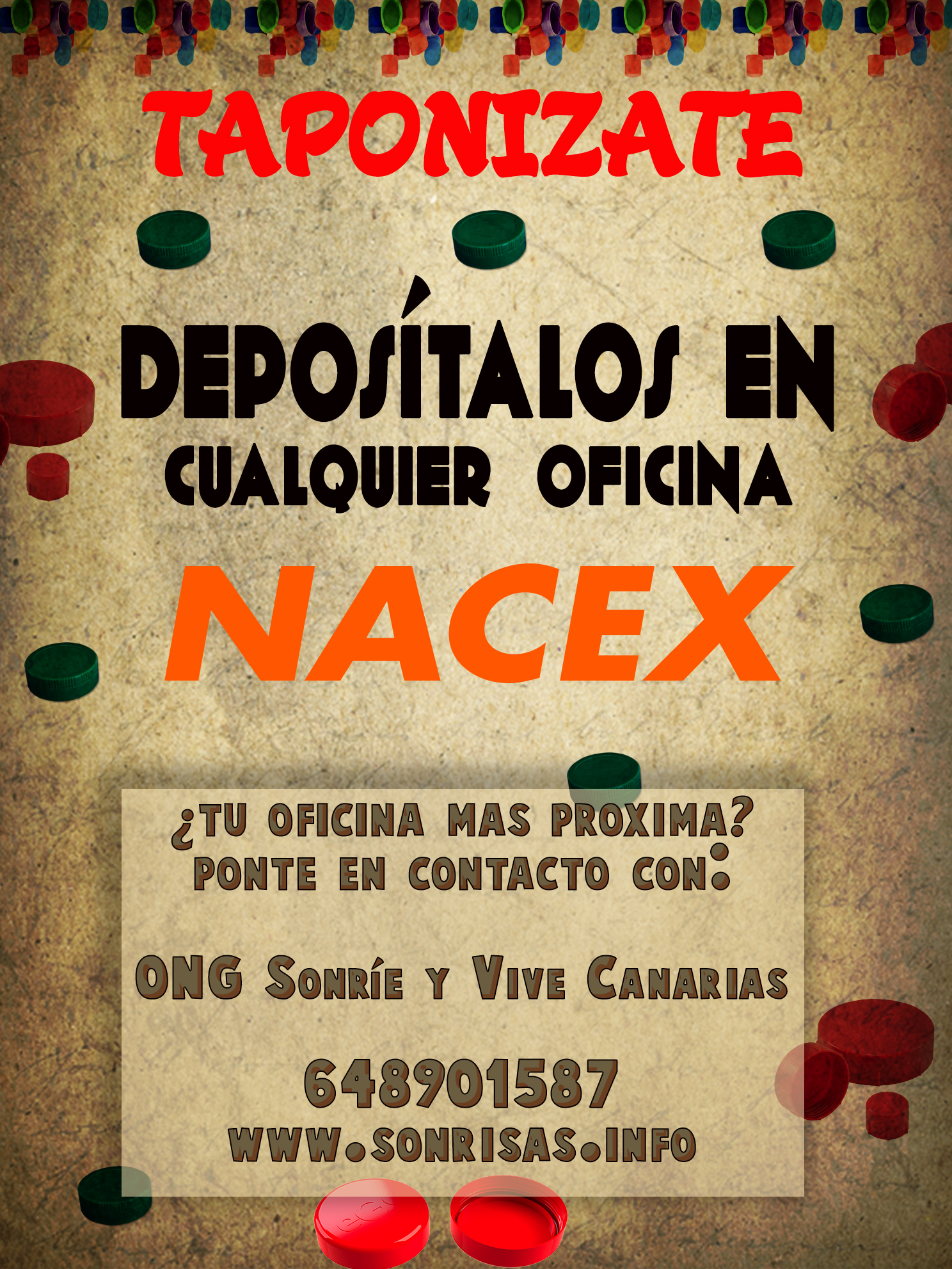 tapones nacex